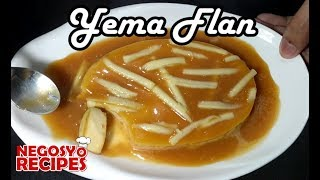 How to Make Yema Flan   Leche Flan and Yema in One   Food Business Recipe w/ Complete Costing