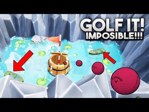 NOS RETAN PARA VER QUIEN TIENE MAS SUERTE... QUIEN GANARA? Golf It!
