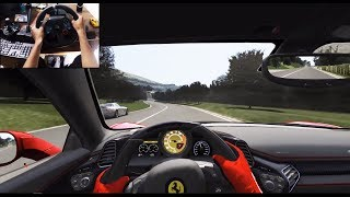 Ferrari 458 Italia Mountain Run - Assetto Corsa (Logitech g29) gameplay