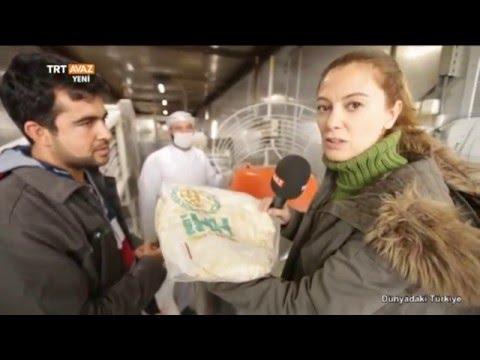Hatay Reyhanlı'da Suriyeliler İçin Ekmeğin Üretildiği Mobil Fırın