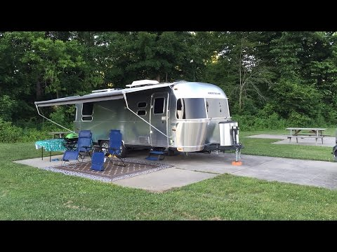 Airstream Travels to southern Indiana and Jackson Center Ohio
