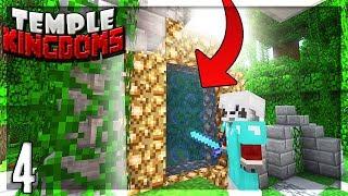 LA NOUVELLE DIMENSION PRESQUE PARADISIAQUE ! | Temple Kingdoms #4 - Minecraft FK Moddé