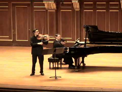 Vieuxtemps Viola Sonata 2nd movement - Dimitri Murrath & Vincent Planès
