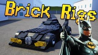 Brick Rigs - BAT MOBILE! + GIANT CRANE! - Best Creations - Let