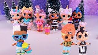 """Куклы Лол Сюрприз Мультик - Мальчики в поисках Новогодних  Блестящих Lol Surprise """"Зима  2020"""""""