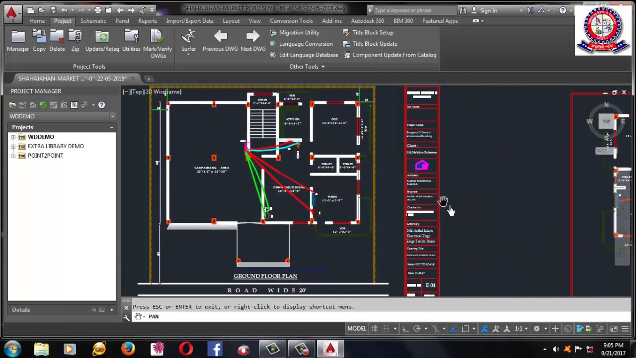 Autocad Electrical Course Outline For Electrical
