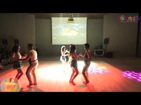 Salsa Ankara Group Dance Performance - EDF 2016