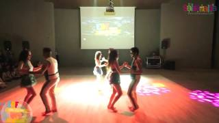 Salsa Ankara Group Dance Performance - EDF 2016