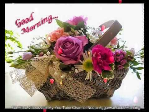 Good Morning Wishes With Beautiful Flowers Good Morning Flowers For