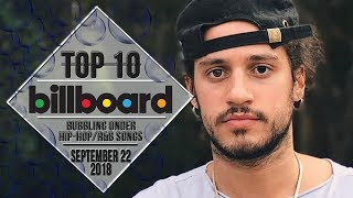 Baixar Top 10 • US Bubbling Under Hip-Hop/R&B Songs • September 22, 2018 | Billboard-Charts