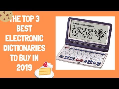 The Top 3 Best Electronic Dictionaries To Buy In 2019