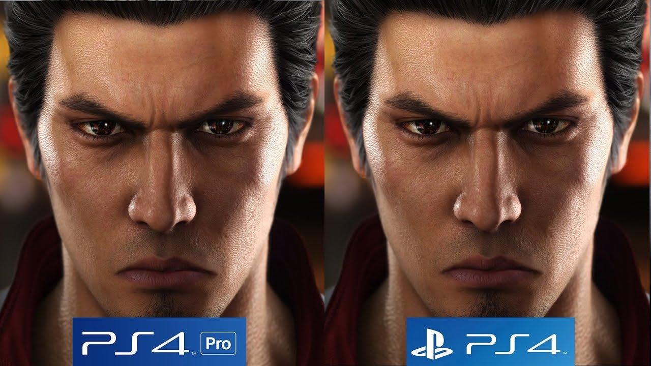 Yakuza 6 Ps4 Pro Vs Ps4 Graphics Comparison Shows Off Subtle Differences