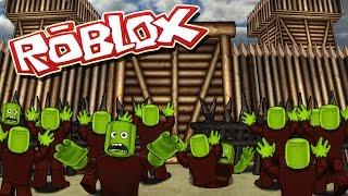 Roblox Movie | ZOMBIE APOCALYPSE GROUND ZERO - Island Survival! (Roblox Zombies)