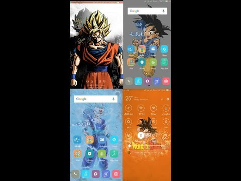 How to get Dragon Ball Super Theme in MI Android Phone.