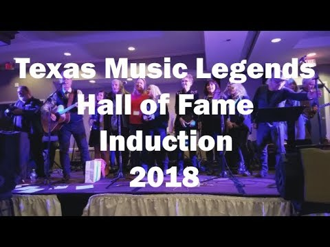 2018 Legends of Texas Music Induction