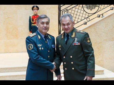 Встреча министров обороны России и Казахстана