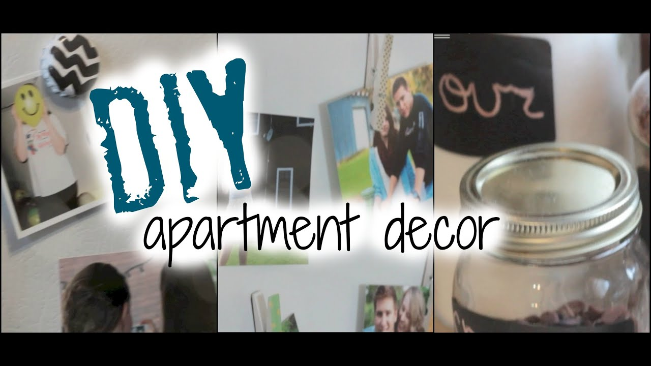 Diy apartment decor on a budget youtube Apartment decorating cheap ideas