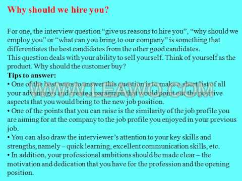 9 financial business analyst interview questions and answers - YouTube