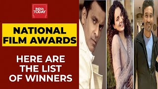 Manoj Bajpayee, Dhanush Named Best Actors, Kangana Ranaut Best Actress At 67th National Film Awards