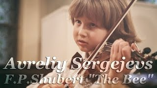 "Avreliy Sergejevs plays F.P.Shubert ""The Bee"" in Riga (2015)"
