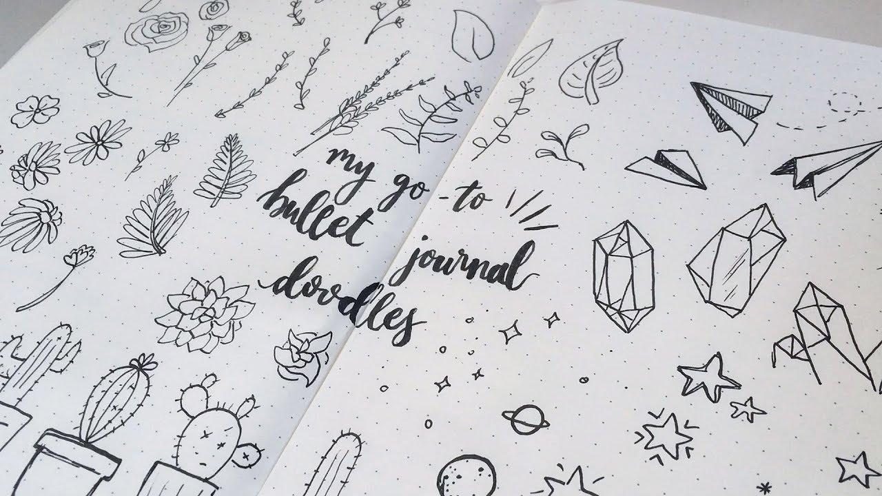 Uitzonderlijk My Go-To Bullet Journal Doodles - YouTube &ED97