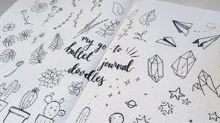 Video My Go-To Bullet Journal Doodles download MP3, 3GP, MP4, WEBM, AVI, FLV Juli 2018