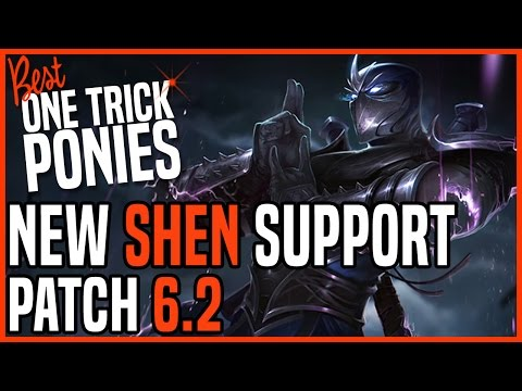 Patch 6.2 Shen Support - Matchup: Thresh - Ranked Master KR