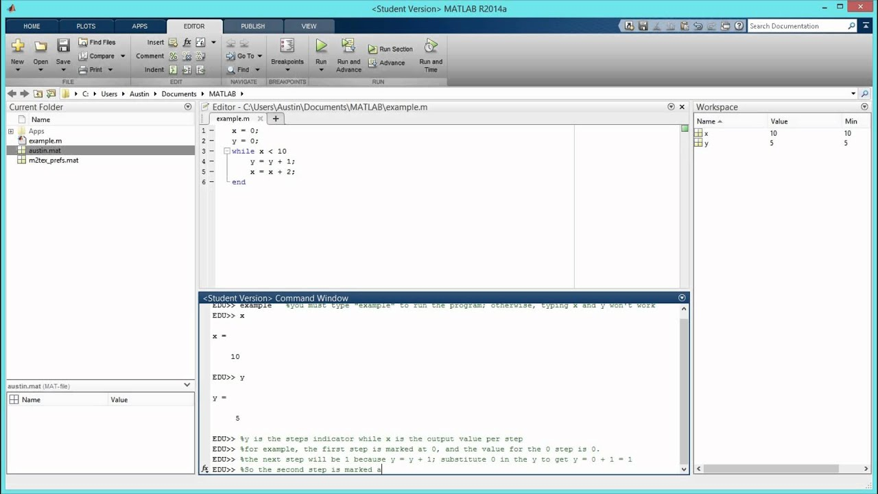 How to Create a While Loop in MATLAB  [HD]