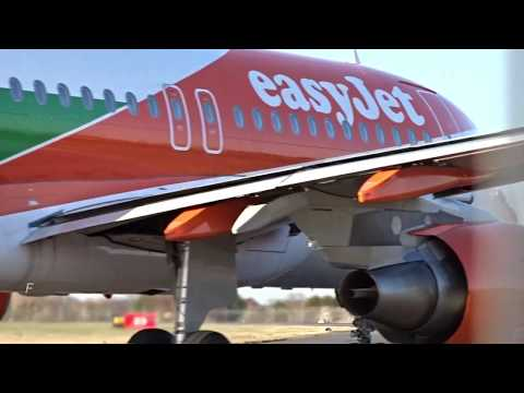 EasyJet OE-LQY Airbus A319 Departure Out Of London Southend Airport SEN(EGMC)
