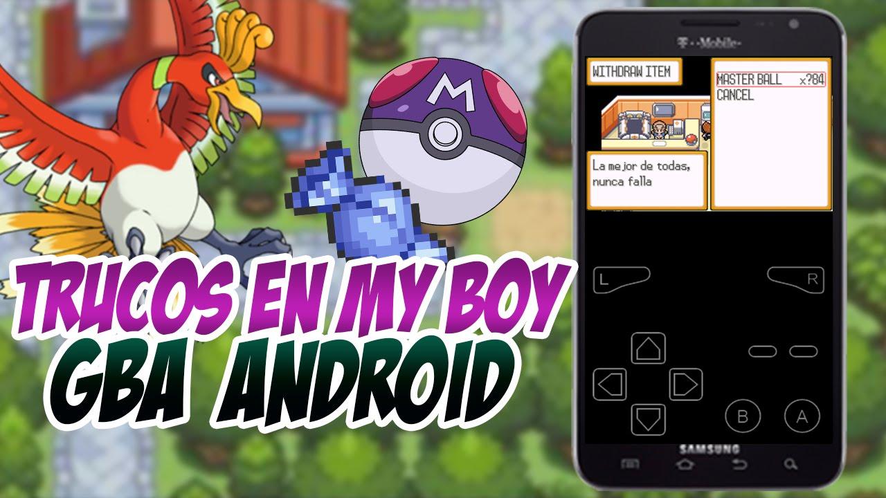 Como meter trucos o gameshark en My Boy | GBA Emulador Para Android