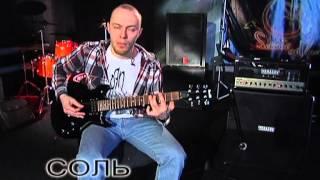 Уроки гитары #1. Эффектный риф Rammstein - Du hast