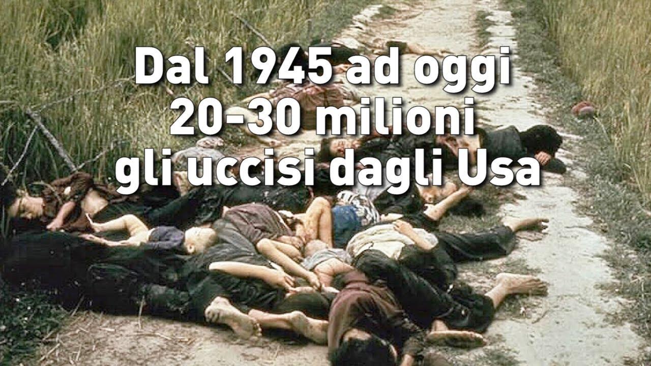 L'Arte della Guerra - Dal 1945 ad oggi 20-30 milioni gli uccisi dagli Usa (IT/EN/DE/FR/PT/RO/SP