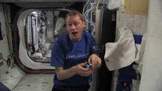 Life in space: Starting the day!