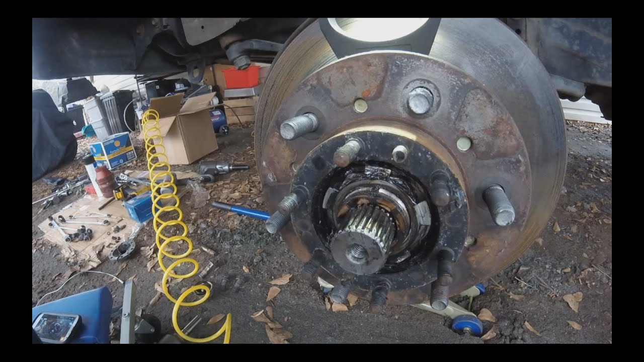 Wheel Bearings Replacement Amp Repack How To Toyota Pickup