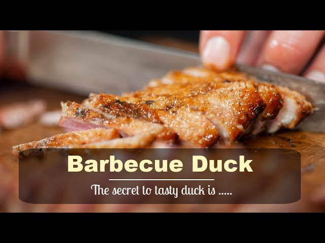 Barbecue Duck - Best duck you ever had!