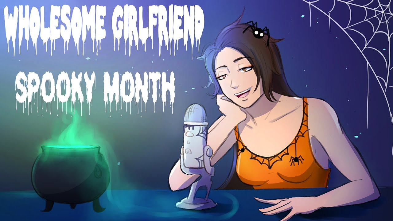 Wholesome GF LIVE: SPOOKY MONTH CONTINUES💜 [Q&A] [Little Nightmares] [We'll decide on the game?]