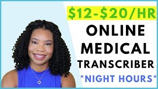Online Transcriber Jobs (night hours) | Online, Remote Work-At-Home Jobs August 2019