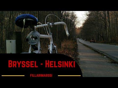 Fillarimarssi Bryssel - Helsinki