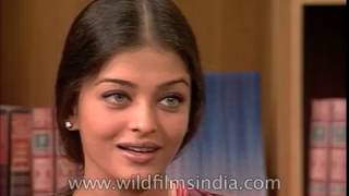 Aishwarya Rai on college life and how she was first asked to model for a magazine shoot
