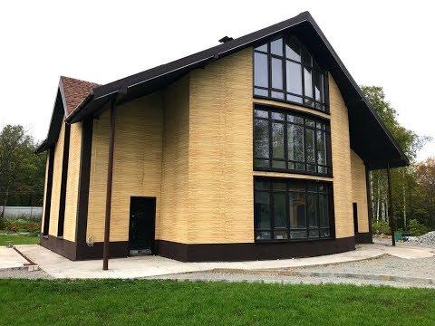 Самое простое решение, чтобы получить негорючий фасад для своего дома!!!