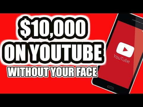 How To Make Money On YouTube Without Being On Camera 2020!
