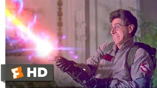 Ghostbusters (3/8) Movie CLIP - We Came, We Saw, We Kicked Its Ass! (1984) HD