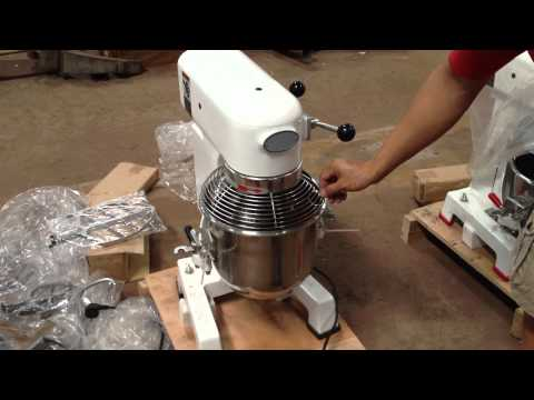 10L Gear Transmission Planetary Food Mixer With Safe Guard