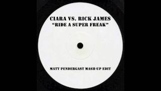 "Ciara vs. Rick James ""Ride A Super Freak"" Mash-Up"