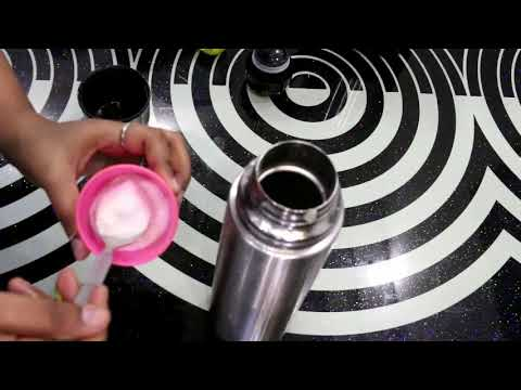 How To Clean Steel Flask From Inside At Home / Easy Ways To Clean Flask / My Home And Kitchen Tips