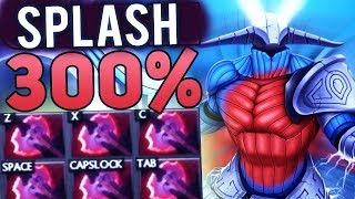 WORLD RECORD! 306% MAX Cleave Damage Sven 6 Battle Fury WTF Gameplay Dota 2