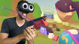 PaintBall Madness! | Rec Room VR [Ep 1]