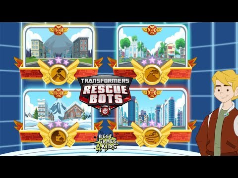 Transformers Rescue Bots: Disaster Dash Hero Run | Griffin RocK is Safe! #60 By Budge