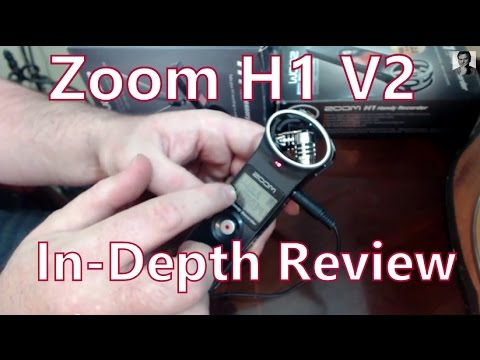 Zoom H1 v2 Handy Recorder Review: 7 Set-Ups For Youtube Videos, Podcasts, Interviews & On-Location