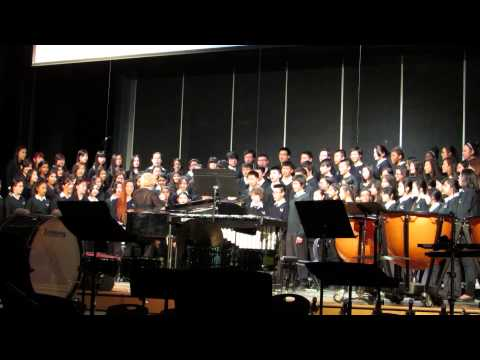 Amani (Peace) by Audrey Snyder performed by BOSS concert choir May 2014